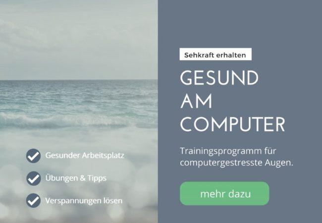 Augentraining Computer Kurs 2